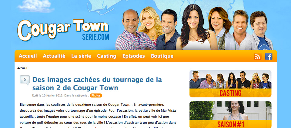 CougarTownSerie.com