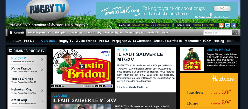 Rugby-tv.info